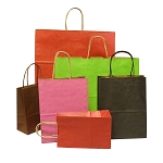 Coloured Paper Shopping Bags