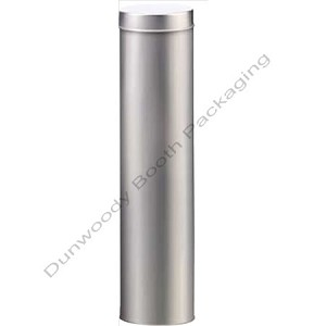 "Cylinder Bottle Tins - 3-3/4""x13-1/2"""