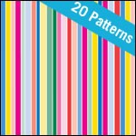 Dots and Stripes Patterned Tissue Paper - 20