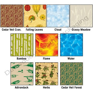 "Nature Patterned Tissue Paper - 20"" x 30"""