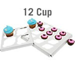 Cupcake Box Inserts - 12 cup