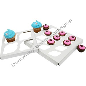 Cupcake Box Inserts - 4 cup