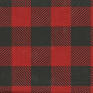 "5A648898 - Red Lumberjack Plaid Tissue Paper 20""x30"""