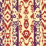 "24""x200ft Roll - 6268 Ikat Gift Wrap"