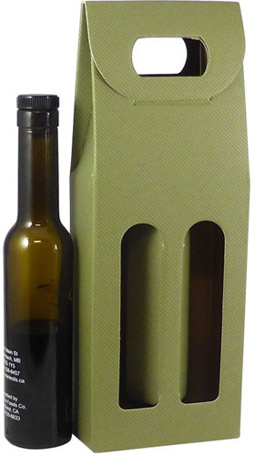 Oil and Vinegar Bottle Carrier - Sage - 200ml