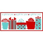 Whimsical Gifts For You Labels