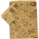 Paper Accessory Bags - Newsprint - 6