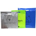 Custom Printed Poly Boutique Bags - B Colours