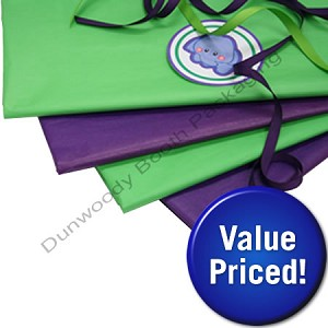 Value Priced Coloured Tissue Paper