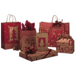 Home for the Holidays Paper Shopping Bags