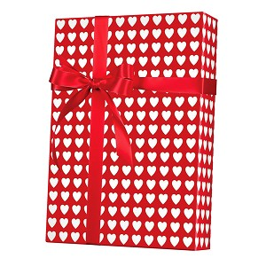 "24""x200ft Roll - 1260 Valentines Gift Wrap"