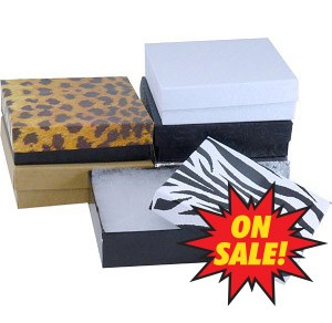 "#33 - 3-1/2""x3-1/2""x1"" Value Priced Jewellery Boxes - *SALE*"
