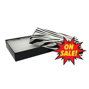 "#53 - 5-1/4""x3-3/4""x7/8"" - Zebra - Value Priced Jewellery Boxes - *SALE*"
