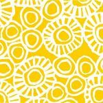 "24""x833ft Roll - 6347 Marigold Gift Wrap"