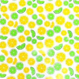 "24""x833ft Roll - 8942 Lemons Gift Wrap"