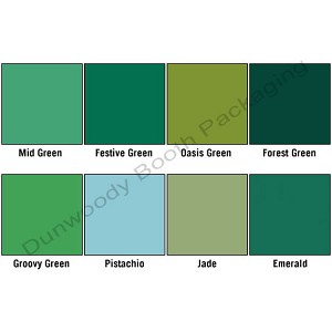 Premium Coloured Tissue - Shades of Green
