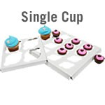 Cupcake Box Inserts - Single size