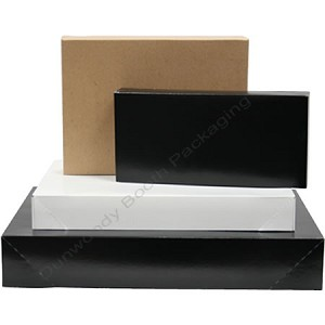 "15X-15""x9.5""x2"" Garment Boxes - Black"