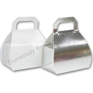 "Mini Purse Boxes - White Gloss - 2-1/4""x1-1/2""x3-1/8"""