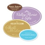 Custom Printed Foil Hot Stamped Labels - Minimum 1,000 Labels
