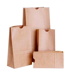 "Hardware Style Paper Bags - 4-5/16"" x 2-7/16"" x 7-7/8"""
