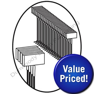 Value Priced Fasteners for Regular Tools - Clear