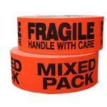Mixed Pack Fragile and Mixed Pack Shipping Labels