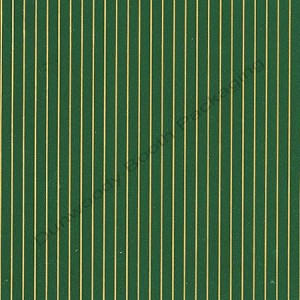 "24""x833ft Roll - 4480 Green & Gold Stripe Gift Wrap"