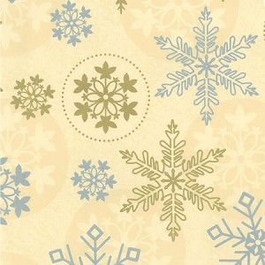 "24""x833ft Roll - 7256 First Snowfall Gift Wrap"