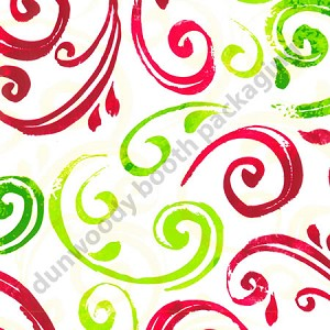 "24""x833ft Roll - 5503 Christmas Swirl Gift Wrap"