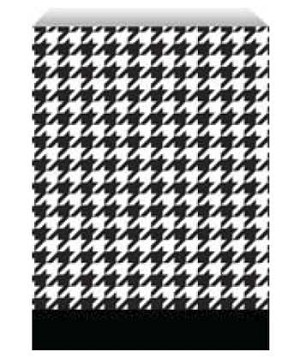 "Paper Accessory Bags - Houndstooth - 4"" x 6"""