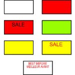 Labels for Avery Dennison M-1 Labeler - Best Before
