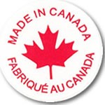 Made In Canada Labels - 3/4
