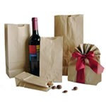 Brown Kraft Grocery Bags - 12lb