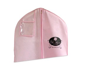 "72"" Fabtex Bridal Gown Bags with Zipper - Pink"