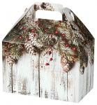 "3A668198 - Gable Boxes - Rustic Winter - 8.5"" x 5"" x 5.5"""