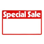 Erasable Plastic Sign Cards -