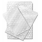 Paper Accessory Bags - Silver Swirls - 5