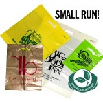 Small-Run Custom Printed - Oxo-Biodegradable Poly Bags