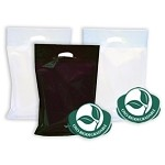 Oxo Biodegradable Poly Bags - A Colours - Large