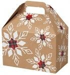 3A668197 - Gable Boxes - Plaid Snowflakes - 8.5