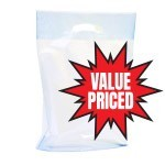 Value Priced Boutique Bags - A Colours - 500/box - Petite - Clear