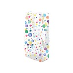 6A655279 - Watercolour Confetti Polypropylene 2 lb., 1.2 mil Gusset Cellophane Bags with Pattern 4