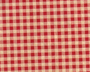 "5A648805 - Red Gingham Tissue Paper 20""x30"""