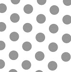 5A648832 - Silver Dot Tissue Paper 20