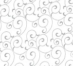 5A648820 - Silver Ivy Swirl Tissue Paper 20